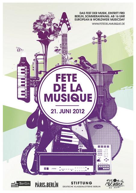 Bildergebnis für Fete De La musique 2012