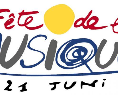 klassisches Logo der Fête de la Musique