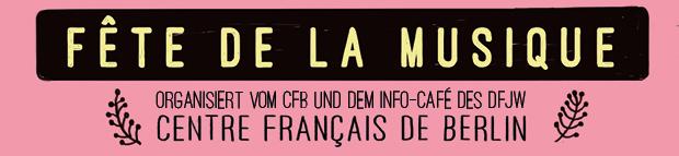 Abbinder Plakat Centre FRancais Fete de la musique