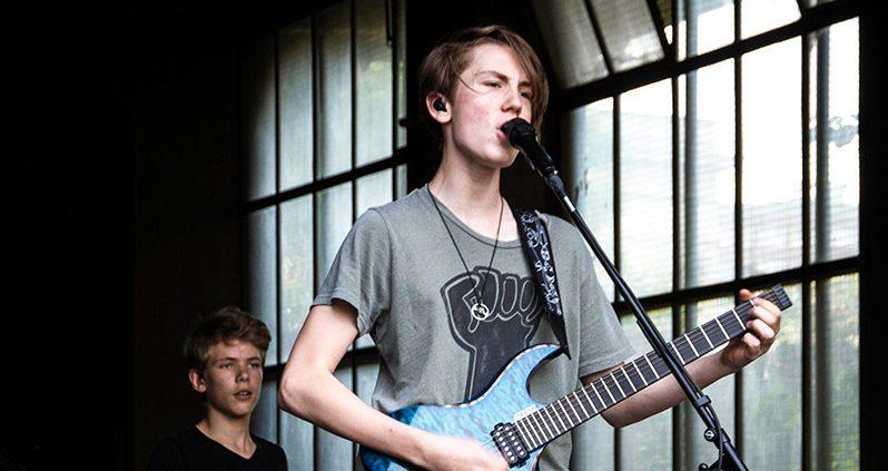 Nemo HAgen Band live auf der FETE Berlin