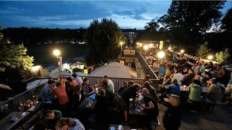 Golgatha Biergarten Berlin zur Fête de la Musique