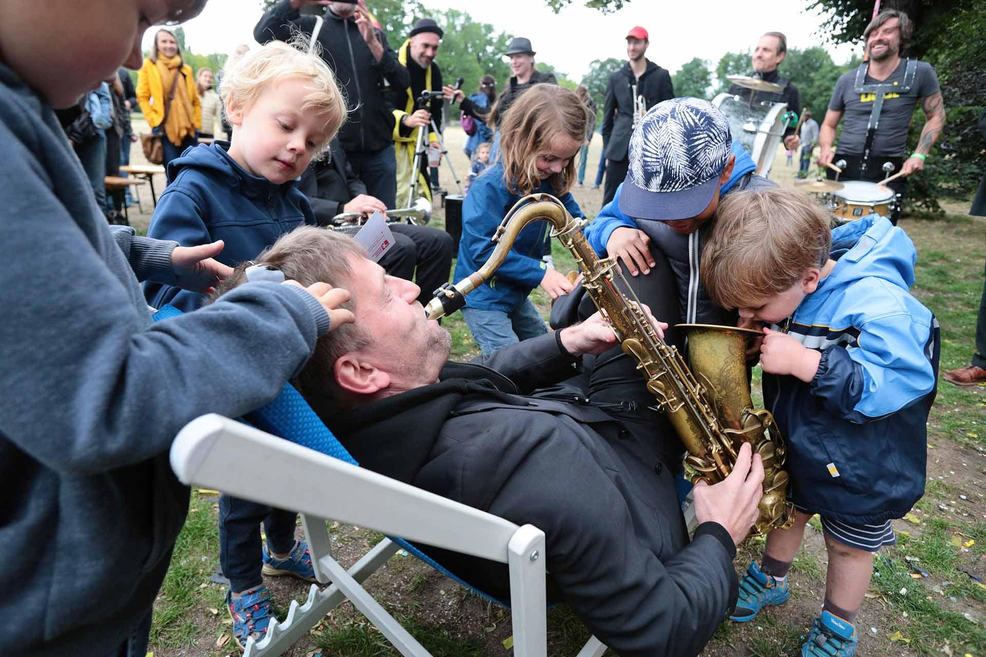 Berlin Brass Festival Park Kinder Fete de la Musique
