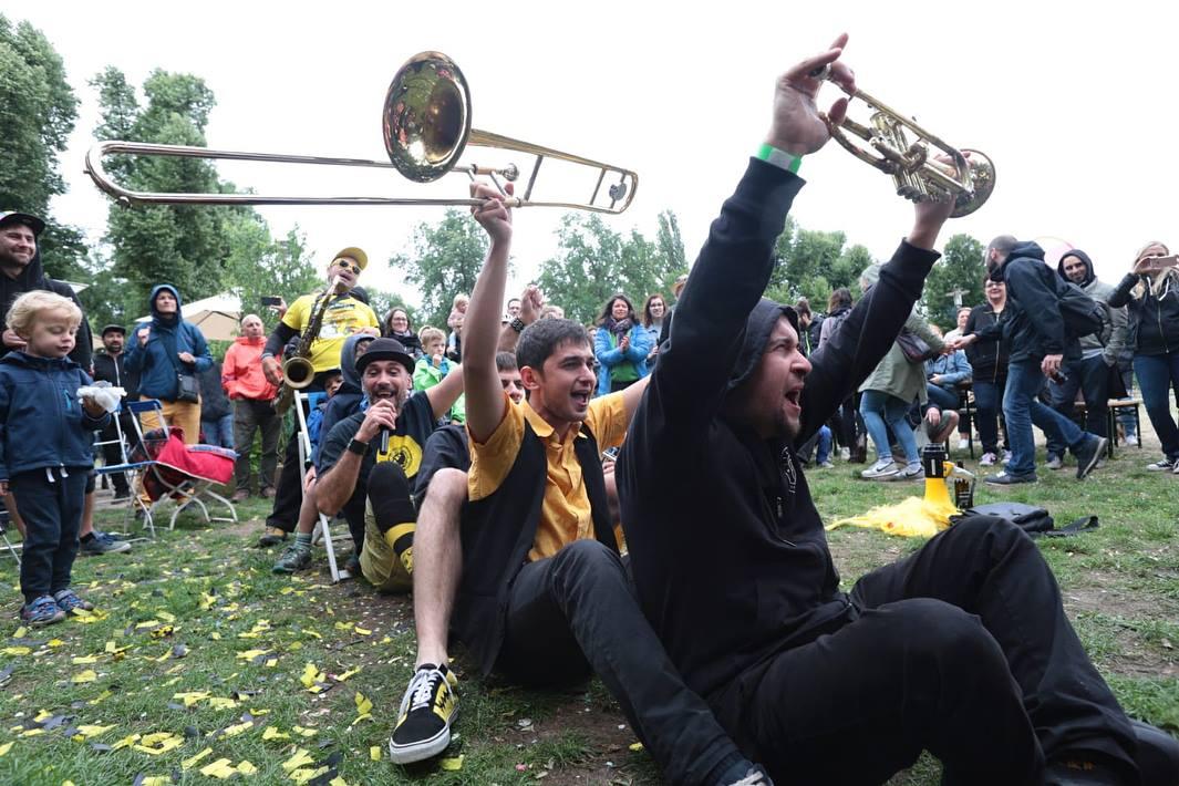 Berlin Brass Festival Fete de la Musique Park