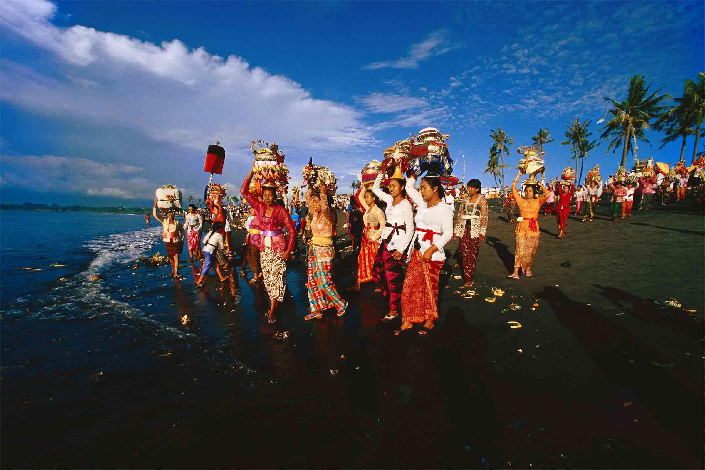 Fete de la musique 2019 indonesische Hochzeitsprozession