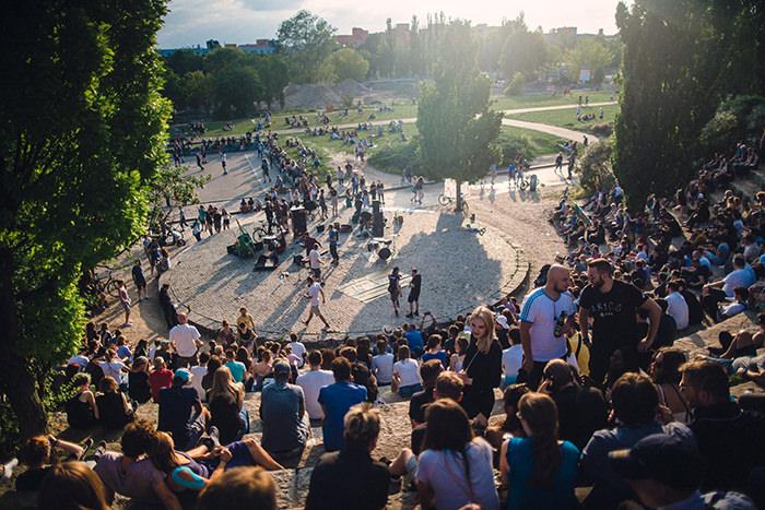Mauerpark Fête de la Musique Berlin